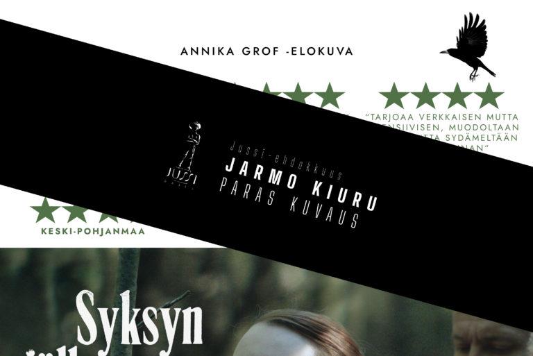 Jarmo Kiuru – kuvauksen Jussi-ehdokkuus SJSK-elokuvasta